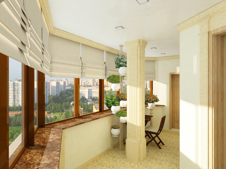 Балконы отделка в одессе дизайн